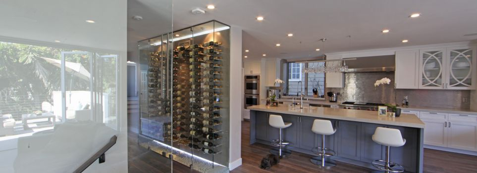 Friedman Residence Manhattan Beach Wine Ref