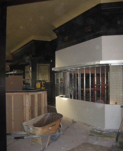 Makino Restaurant Picture of Construction Progress