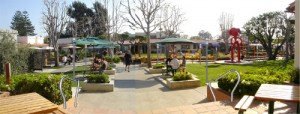Malibu Country Mart Courtyard View